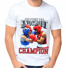 Футболка Big fight knockout champion