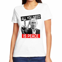 Футболка женская All you need is peace