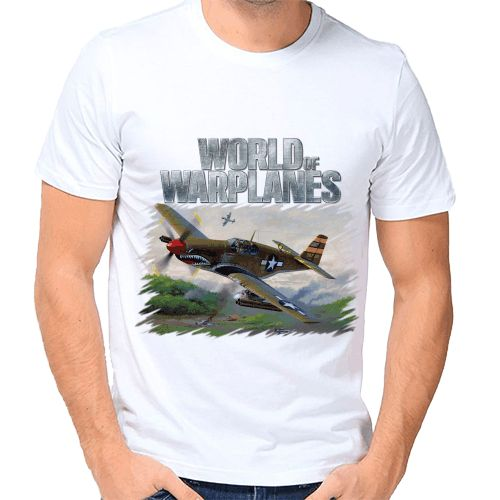 Футболка World of Warplanes купить по цене — 690 р