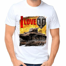 Футболка I love world of tanks