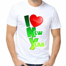 Футболка I love new year