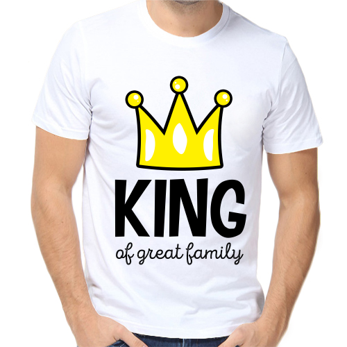 Футболка King af great family купить по цене — 690 р