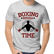 Футболка Boxing russia time арт 5398