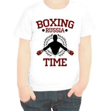 Футболка Boxing russia time арт 5404